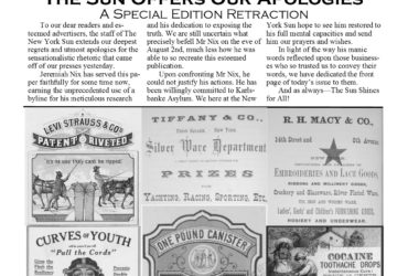 August 4, 1874 Retraction